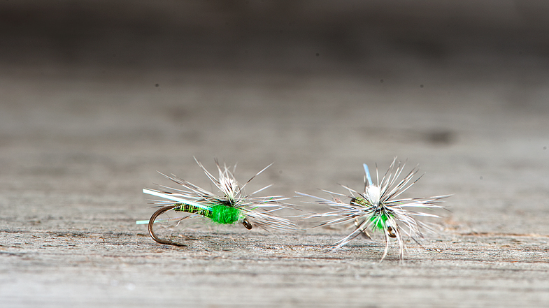 16 - insect green & grizzly