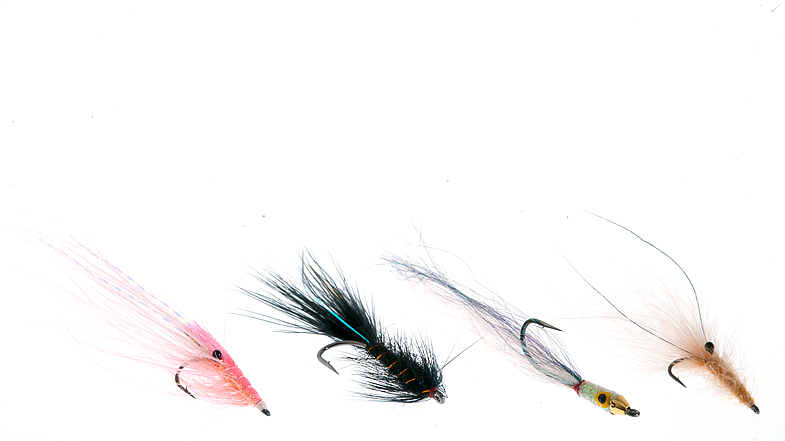 Finally, they are here! Our great selection of saltwater flies made for fishing in norwegian and nordic waters. These flies are tested and refined by flyfishermen in Norway, Sweden and Denmark. The selection is good, and cover most of the fish food in our fjords; Krill, small baitfish, shrimps, gammarus, herrings and worms. All flies are dressed light with emphasis on durability and moveability, on premium hooks from Tiemco, Gamakatsu or Varivas. You are therefore assured the very best from the art of flytying and manufacturing! Tight Lines!